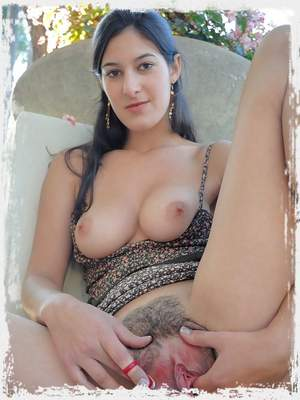 Liliana fingers her sweet and tasty pussy